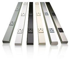 Wiremold Plugmold Multi Outlet Strip -  Hide them under kitchen cabinets and get a clean backsplash area