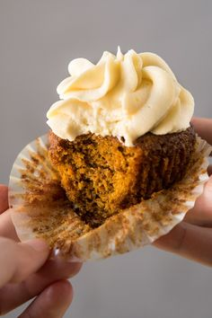 Bitten Gluten Free, Paleo & Low Carb Carrot Cake Cupcakes