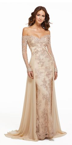 7b519633d824 Charming Tulle   Chiffon Off-the-shoulder Neckline A-line Mother Of The