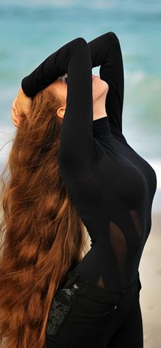 Long red hair.#Hair #Beauty #Redheads Visit Beauty.com for more