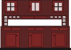 Photo By Clker-Free-Vector-Images | Pixabay   #cupboard #furniture #interior #furnituredesign #furniture