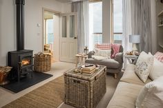 Large luxury self-catering beach house in Gorran Haven, Cornwall