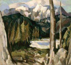 'Cairngorm', John Duncan Fergusson, 1929