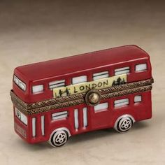 Limoges London bus box