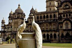 Laxmi Vilas Palace in Vadodara, India