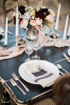 Featured Photographer: Lahna Marie Photography; wedding reception centerpiece idea; click to see more details about this wedding.