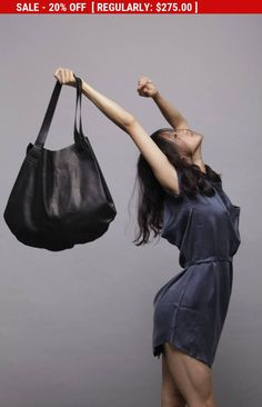 Carolina bag is a leather tote, handmade in our studio from the beginning to the end.  SIMPLE&STYLIS