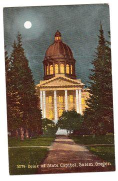 c1910s Salem Oregon Vintage Postcard unused by PicturesFromThePast, $4.75