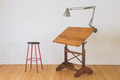 Vintage Anco Drafting Table