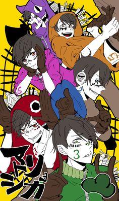 Osomatsu-san x Matryoshka (Vocaloid) Vocaloid, Anime K, Haikyuu Anime, Osomatsu San Doujinshi, Dark Anime Guys, Fanart, Ichimatsu, The Villain, Noragami