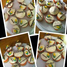 Joseph and the amazing technicolor dreamcoat cupcakes!