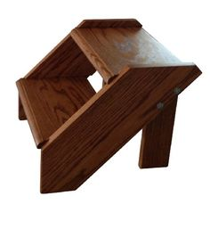 Premier Pet Steps Tall Open Riser Steps, Solid Oak Tread with a Rich Cherry Stain, 12-Inch - http://www.thepuppy.org/premier-pet-steps-tall-open-riser-steps-solid-oak-tread-with-a-rich-cherry-stain-12-inch/