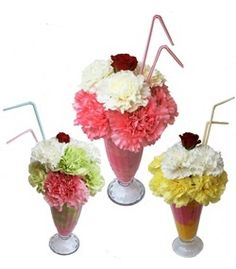"Ice Cream Floral Sundaes - A perfect birthday or ""good job"" gift for a child! Cactus Flower in Phoenix, AZ $24.99"