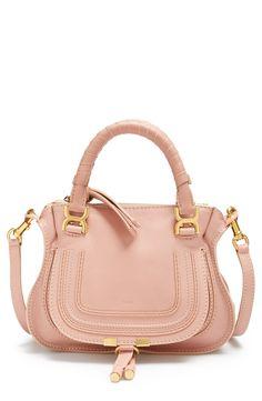 Swooning over this blush Chloe handbag...