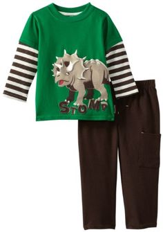 Dinosaur Stomp Pullover And Pant Set
