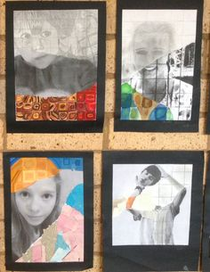 Yr8 abstracted portraits