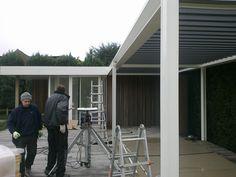 Opbouw nieuwe kantoren @ 2013  www.verandaland.be