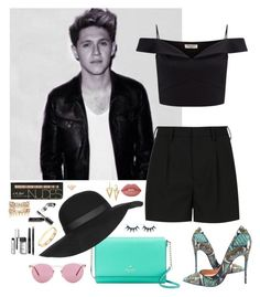 """""""Niall Horan #57"""" by ambere3love34 ❤ liked on Polyvore featuring Yves Saint Laurent, Lipsy, Christian Louboutin, Kate Spade, Topshop, Oliver Peoples, Lime Crime, Bobbi Brown Cosmetics, River Island and Cartier"""