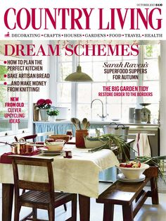 Country Living magazine October 2015 cover countryliving.co.uk