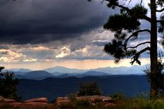 mogollon rim of arizona amazing beauty and setting of several