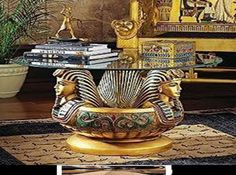 Idea For Egyptian Decorating