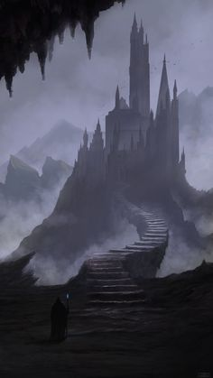 Dark Towers, Elizer Morcillos on ArtStation at https://www.artstation.com/artwork/o9yXB
