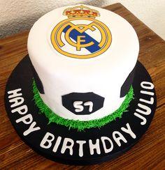Real Madrid Cake!