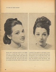 Comb outs 1963 teen magazine