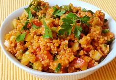 Diabetic Recipes, Vegetarian Recipes, Cooking Recipes, Healthy Recipes, Crossfit Diet, Hungarian Recipes, Kefir, Chana Masala, Fried Rice