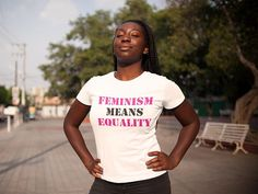 Feminism means Equality T-shirt Feminist Tshirt Girl Power