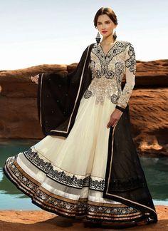 Dashing Off White Color Designer Salwar Kameez