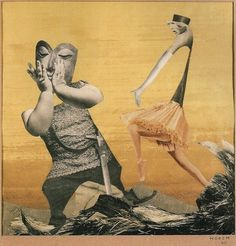 The Daily Muse: Hannah Höch – Photomontage/Collage Artist - elusivemu. Collages, Collage Artists, Surrealist Collage, Hannah Hock, Hannah Hoch Collage, Raoul Hausmann, Dada Artists, Hans Richter, Francis Picabia
