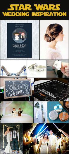 Star Wars wedding inspiration, geek weddings