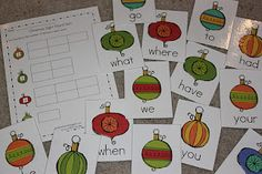 sight word hunt / sort by # of letters