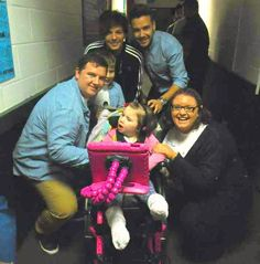 Meeting: The family with One Directions' Louis Tomlinson and Liam Payne
