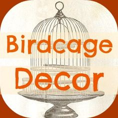 Sweetest Ideas for Decorating with Birdcages2 | Crafts a la mode