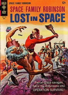 Space Family Robinson: Lost in Space comic book.
