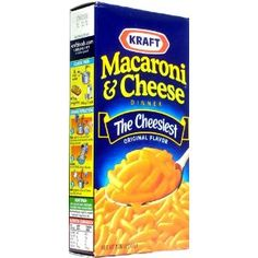 """I have yet to discover a homeade macaroni and cheese that tastes better than the """"Blue Box Blues""""."""