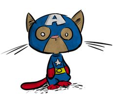 Marvel Cat - Capt. America