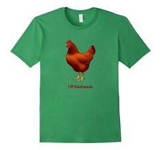 Funny I Love Redheads Rhode Island Red Chicken