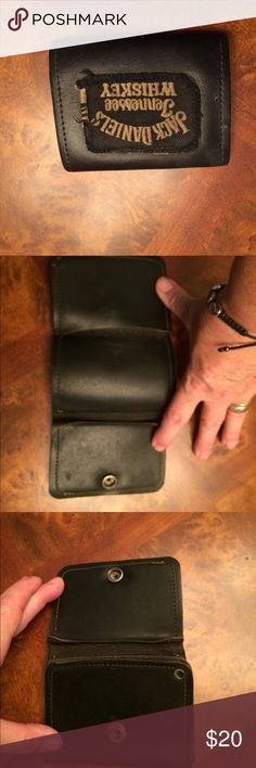 Vintage Jack Daniel's leather wallet Beautiful leather JD trifold wallet. I have no idea the original price. Jack Daniels Other