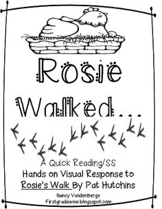 81 best Rosie's Walk Positional Words images on Pinterest