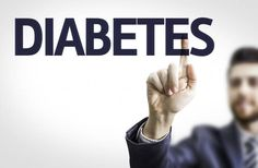 Man writing Diabetes