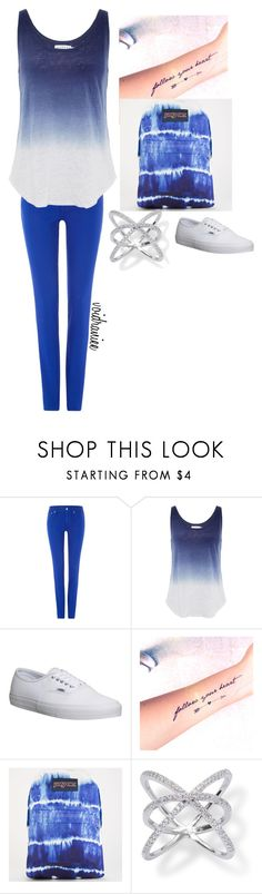 """Untitled #193"" by voidraniee on Polyvore featuring Polo Ralph Lauren, Velvet by Graham & Spencer, Vans and JanSport"