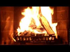 Fireplace video with sound in HD