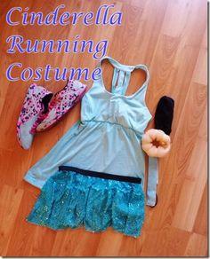 7713b75c1778a cinderella running costume how to make easy Disney Races, Run Disney,  Cinderella Running Costume