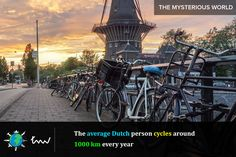 #netherlands #bicycle #facts
