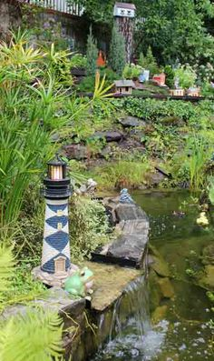 Build a lighthouse beacon or Mars light   Garden Railways Magazine ... #GardenRailroading #ModelRailroading #GardenTrains #Garden