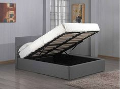 Shop for Fusion Grey Linen Fabric Ottoman Storage Bed Double Single King Storage Bed Double Storage Bed). Starting from Compare live & historic home furniture and decor prices. Ottoman Storage Bed, King Storage Bed, Ottoman Bed, Fabric Ottoman, Upholstered Ottoman, Sofa Bed, Storage Beds, Couch, Sofa Chair