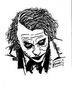 #Joker #HeathLedger #giuseppelombardi #fattidisegnare